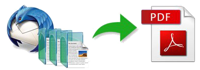 Convert Thunderbird Mail to PDF