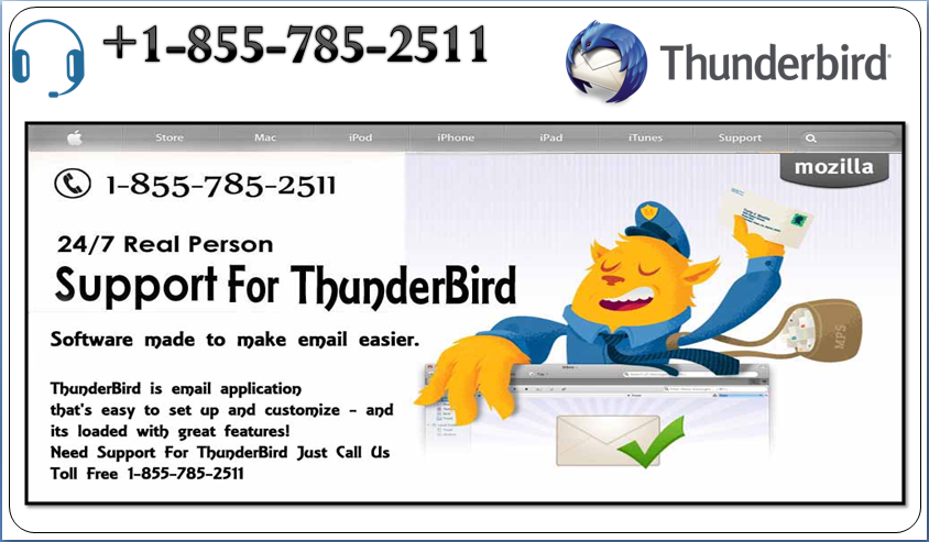 Thunderbird support service