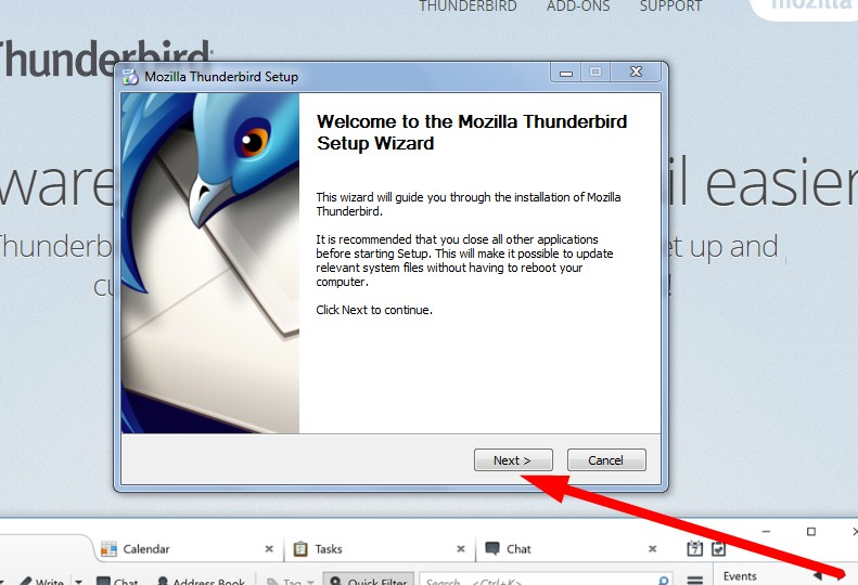 Mozilla Thunderbird Email Download